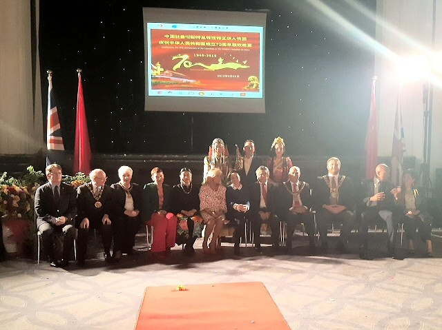 Mayor Billy Sheerin was invited to the 70th National Day of People's Republic of China celebration