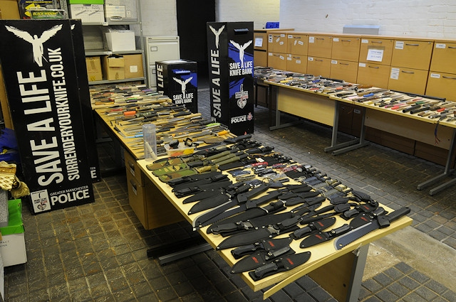 632 knives were surrendered
