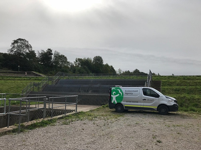 Environment Agency officers were out on the ground responding to incidents, clearing blockages from rivers and continually monitoring river flows and groundwater