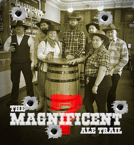 Seven venues, seven days and over 100 ales and ciders can only mean one thing: the Magnificent Seven Rochd'ale' Ale Trail 2019!