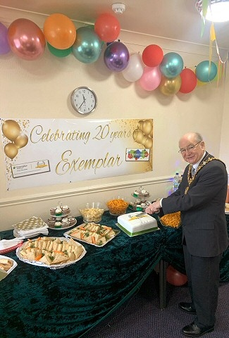 20th anniversary of Thames House Care Home