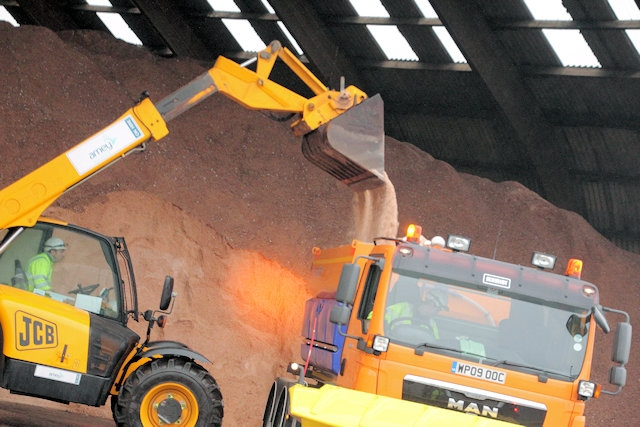 Hyghways stores around 280,000 tonnes of salt at its 127 depots