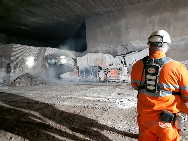 Salt (sodium chloride) comes from salt mined hundreds of metres underground