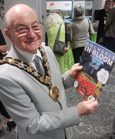 Mayor Billy Sheerin at the North West in Bloom awards