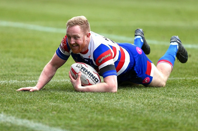 Rochdale Hornets club captain, Lee Mitchell