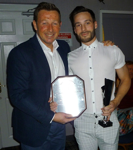 Players' player of the year Lee Crabtree