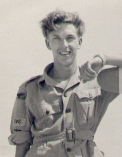 Fred Baxter, pictured in 1954 in the RAF