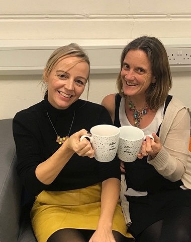 Doctors Louise Mansell and Kirsty Hughes, clinical psychologists and founders of CPnurture Rochdale