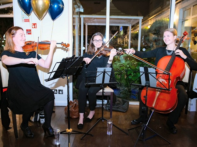 Rodino Strings at Rochdale Law Association Annual Dinner