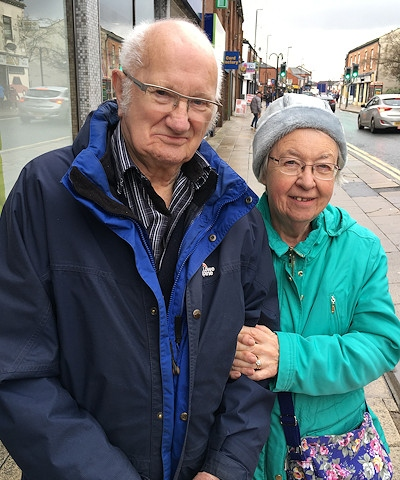 Ray and Joyce Miller, from Heywood