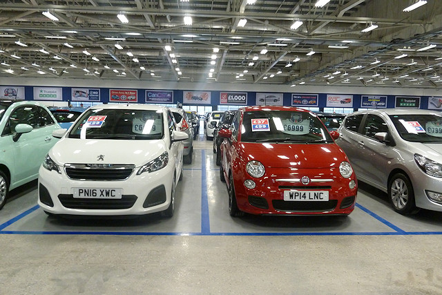 A selection of cars available from The Trade Centre UK