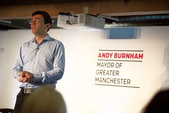 Mayor Andy Burnham: