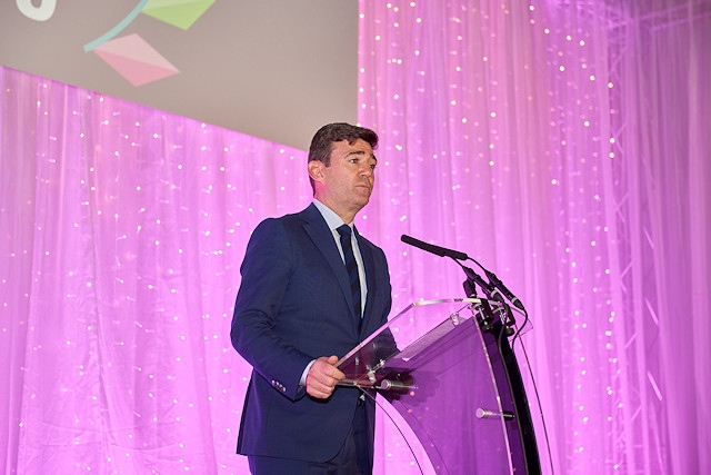 Andy Burnham, Mayor of Greater Manchester, was the keynote speaker at the UK Social Enterprise Awards 2019
