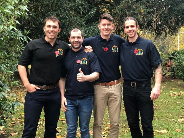Reece Clayton, Dominic Rogers, Matt Mason and Joel McGlynn are all gearing up to row across the Atlantic Ocean in 2020