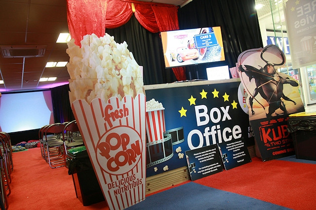Rochdale Exchange Shopping Centre launches its very own pop-up cinema