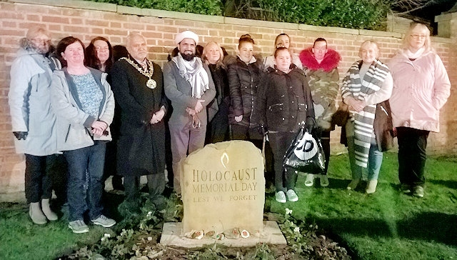 Rochdale Connections Trust attend the Holocaust Memorial Commemoration