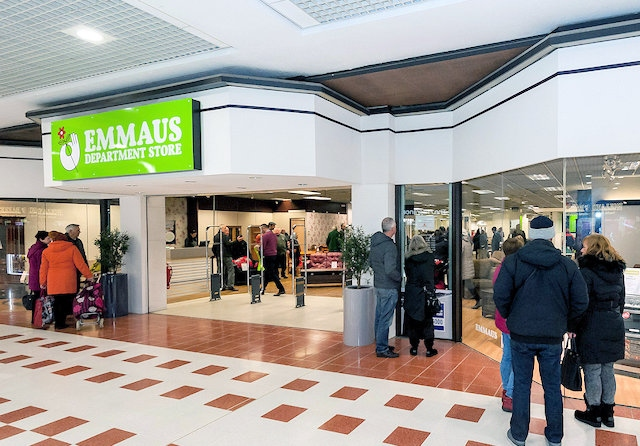 Emmaus move into Rochdale Exchange Shopping Centre old Beals store thanks to Co-op