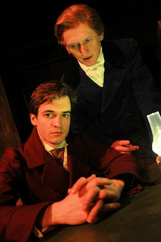 Josh Potts and Peter Fitton in The Haunting