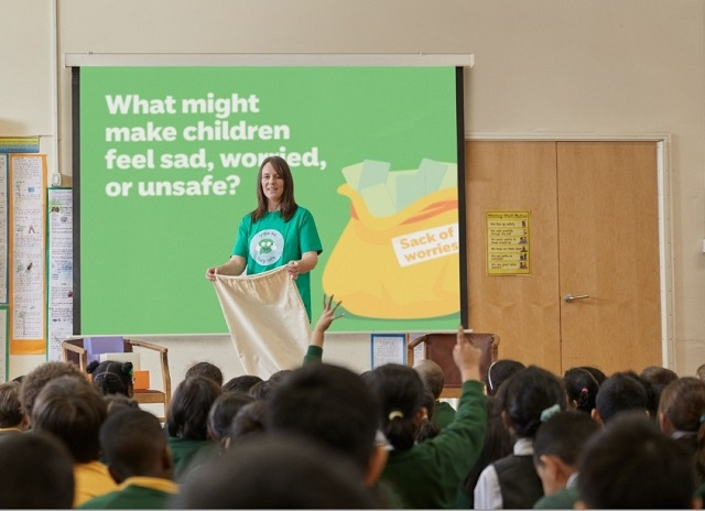 "One of the causes to benefit is the NSPCC's ""Speak Out, Stay Safe"" Schools Service"