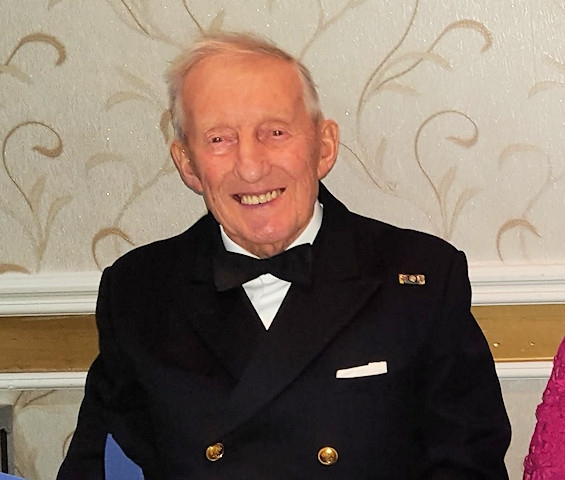 Lieutenant Commander (SCC) Stanley Butterworth RNR Retired