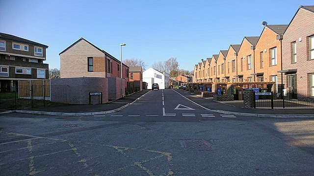 Lower Falinge flats and houses on Toad Lane and Samuel Ashworth Street