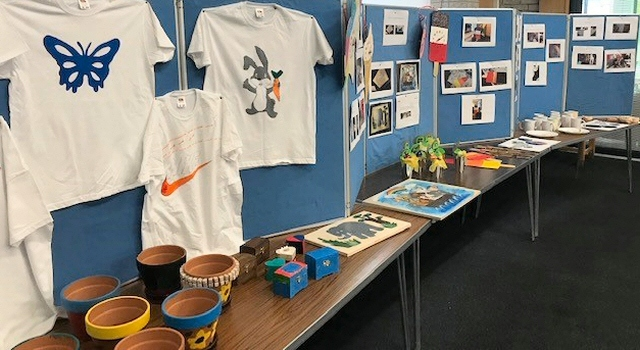 Brownhill Learning Community students created items that they could give back to the local community