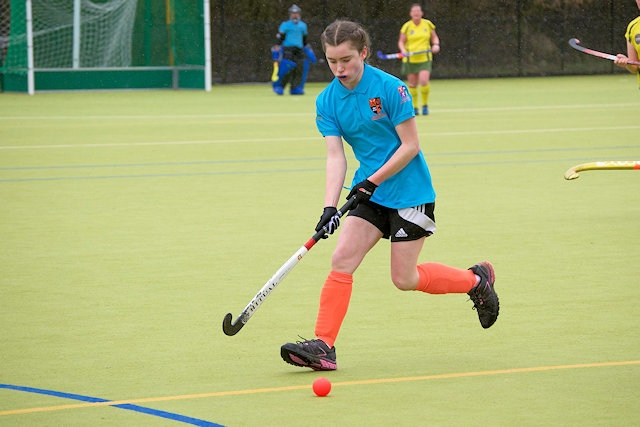 Player of the Match Sarah Ransome, Rochdale Ladies Hockey