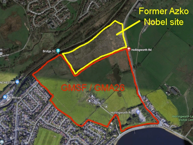 Land at Lower Cleggswood, near to Hollingworth Lake in Littleborough
