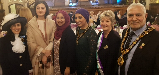 Mayor Mohammed Zaman attended the Mayoress at Home event hosted by his daughter, Mayoress Naaira Zaman