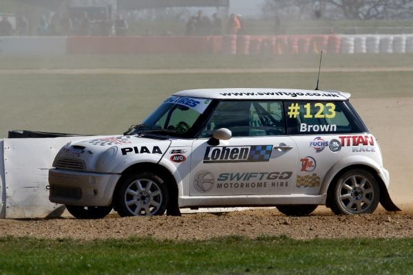 Steve Brown will aim for a decent result at Lydden Hill