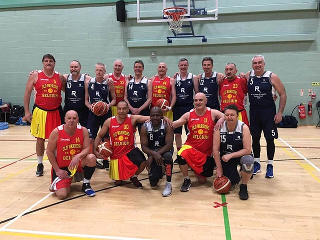 Rochdale Rockets and Belgium Warriors Team