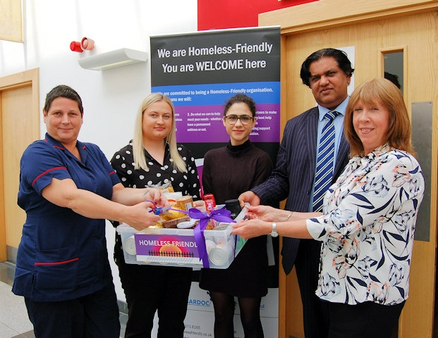 NHS surgeries aiding poverty-struck patients by having food banks on their premises