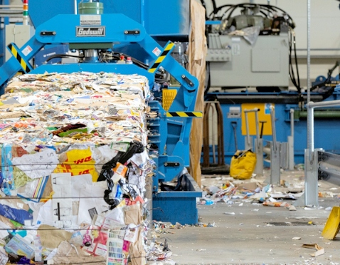 Whitham Mills patented waste tipping solution