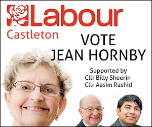 Jean Hornby - Labour candidate for Castleton ward