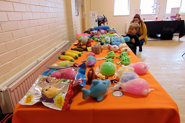 Home-Start Rochdale's sensory table