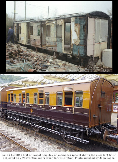 Supplied image: similar carriage body which was restored