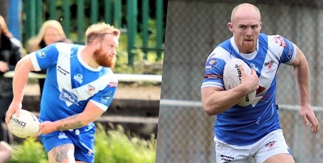 Aidy Gleeson and Callum Marriott signed for Rochdale Hornets