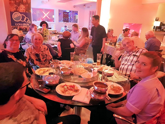 Co-hosted to mark National Mental Health Awareness Week by Littleborough Ladies Circle and The Thamin Restaurant in Littleborough, an impressive �781 was raised on the night