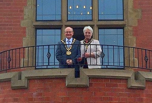 Mayor Billy Sheerin and Mayoress Lynn Sheerin opened the Carnegie Building