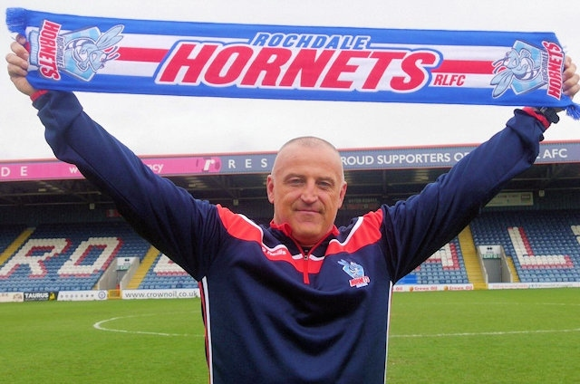 Rochdale Hornets Head Coach, Matt Calland