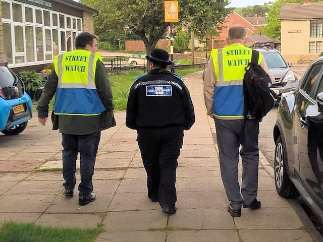 Street Watch - local residents promoting good citizenship and supporting a better neighbourhood by patrolling their own streets