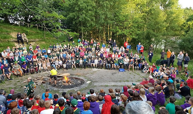 Hundreds of scouts, volunteer leaders and group leaders had a weekend of fun