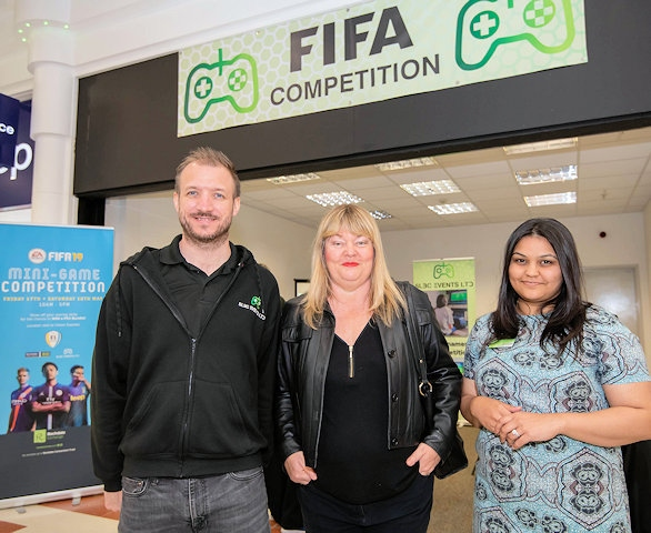 Bernie Coughlin, Director of SLBC Events Ltd, who delivered the event, Katy Thomas, CEO of Rochdale Connections Trust and Alima Ahmed from Rochdale Exchange