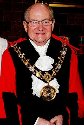Mayor of Rochdale, councillor Billy Sheerin