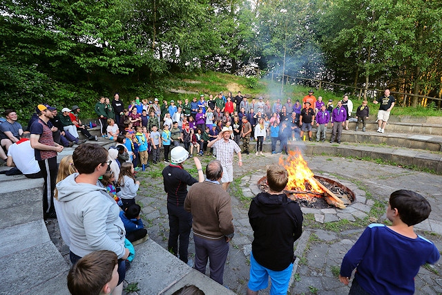 Scouting groups from across the borough celebrated the 75th anniversary of the Ashworth Valley Campsite over the weekend of 22 and 23 June