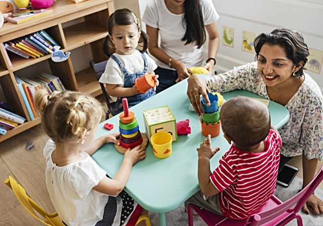 The teaching assistant pre-apprenticeship programme is for lone parents