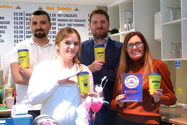 A number of independent businesses are participating in Rochdale's first ever coffee trail, introduced by the Rochdale Business Improvement District