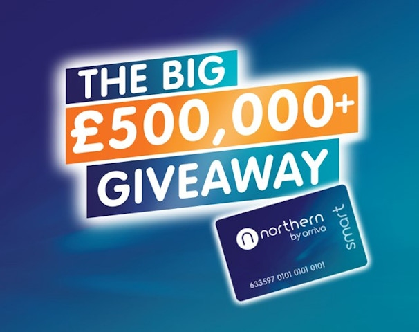 Customers renewing their Northern Smart season ticket can enter monthly prize draws to win back its cash value
