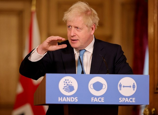 British PM Johnson imposes tighter Covid-19 restrictions on Manchester