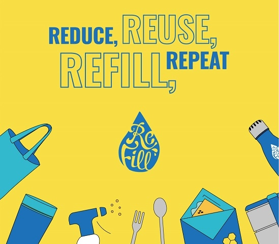 The Refill app helps people find places to eat, drink and shop packaging-free